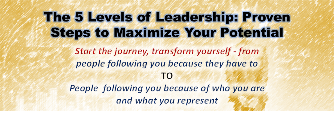 Five levels of leadership